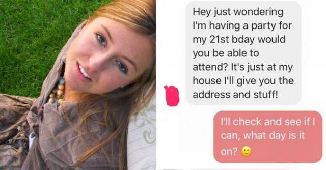 He Just Wanted To Invite Her For His Birthday…