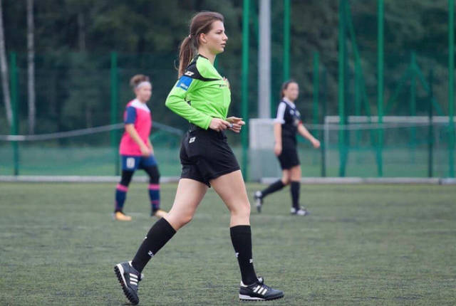 Who Knew That Football Referees Could Be This Beautiful