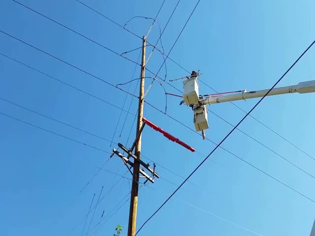 Linemen Meet With Some Pretty High Voltage!