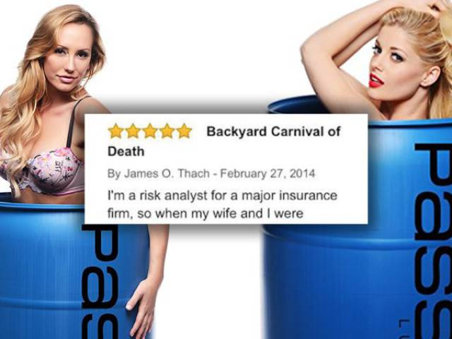 "55 Gallons Of ""Passion Lube"" Have Deserved This Epic Amazon Review…"