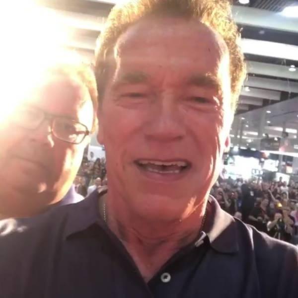 Arnie Brings Us Some New Photos Of Himself