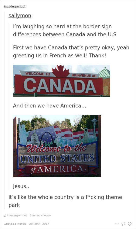 Canada Never Gets Enough Of Roasting USA