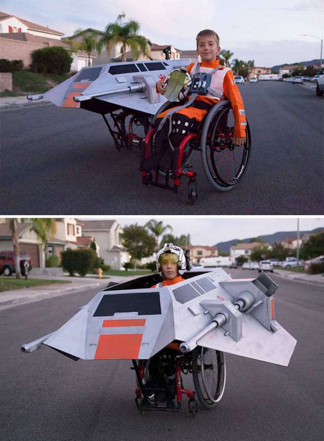 People With Disabilities Can Create Even Cooler Halloween Costumes!
