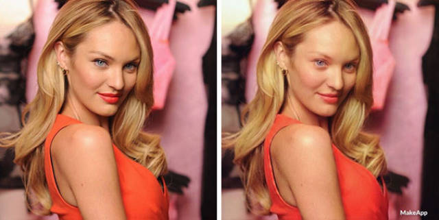 Removing Makeup From Celebrity Faces With This App Seems Way Too Real