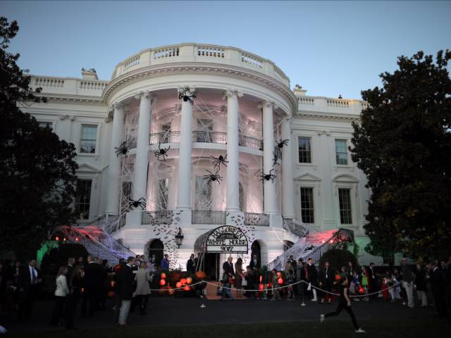 White House Held A Pretty Great Hlaloween Celebration!