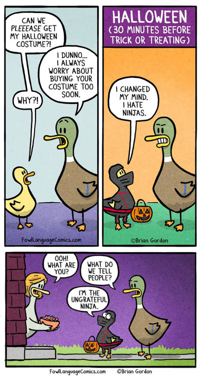 Halloween Comics Prove That It's Not Just A Scary Holiday, But Funny As Well!
