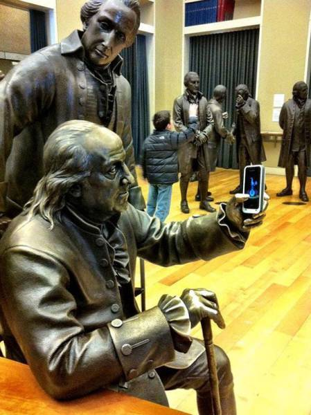 Statues Will Never Be Left Alone…