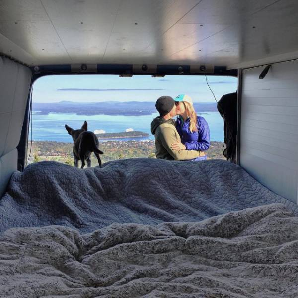 Couple Which Had A Van And A Dream