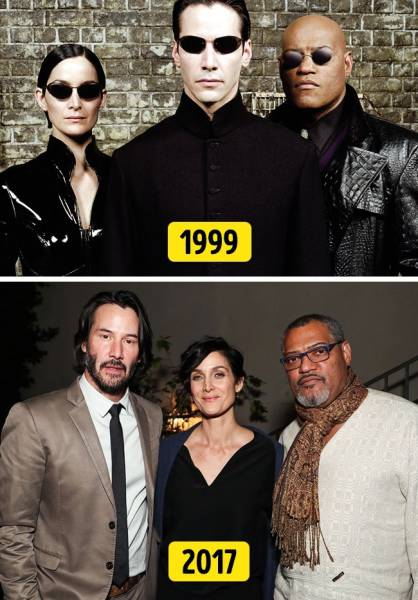 It's Always So Touching When Iconic Movie Actors Reunite