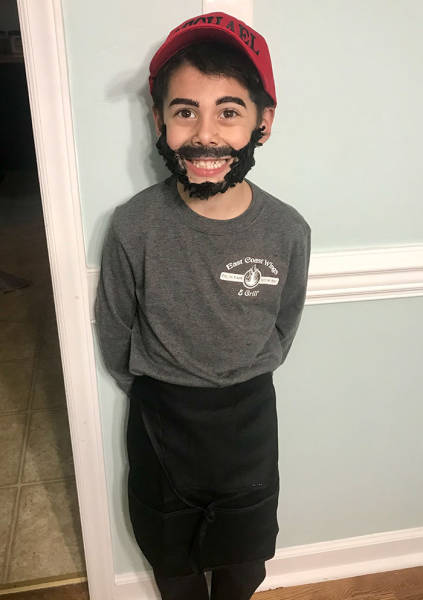 When Your Kid Chooses The Best Halloween Costume Possible…