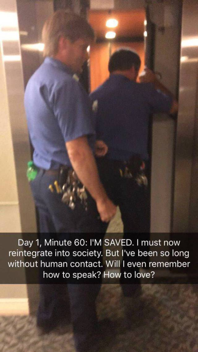 Being Trapped In An Elevator Has Never Been So Intense