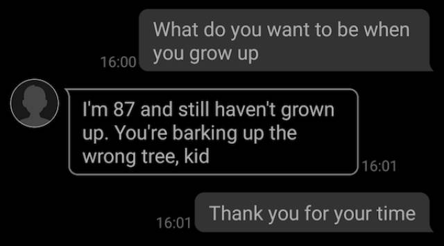 Texting Random Numbers Can Be Quite Awesome