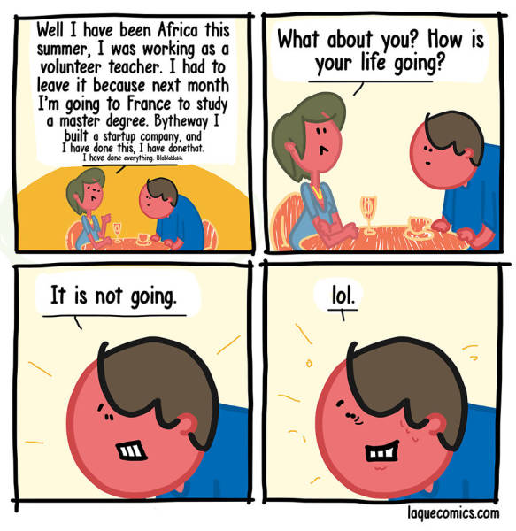 Dark Humor Is Seeping Through These Comics