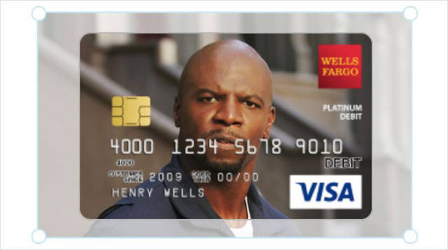 Girl Wanted To Have Terry Crews On Her Debit Card, Had To Ask For His Permission