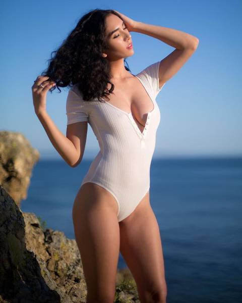 One-Piece Swimsuits Are All The Rage!
