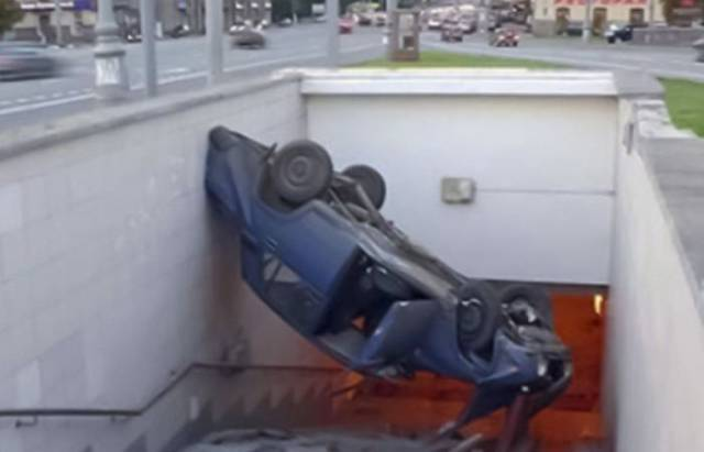Cars Get Involved In Some Epic Fails