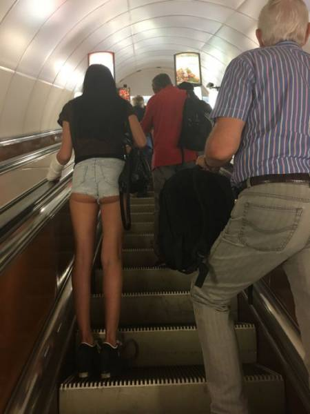 Fashion Is Completely Different Under The Ground