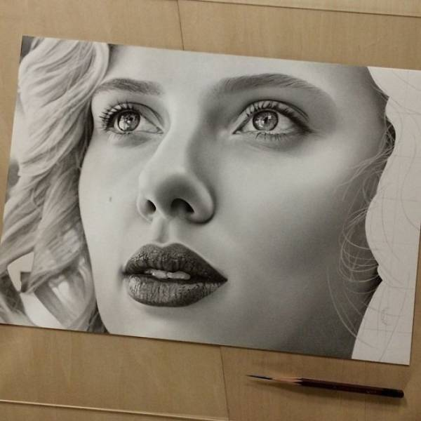 These Photos Are Actually Pencil Drawings!