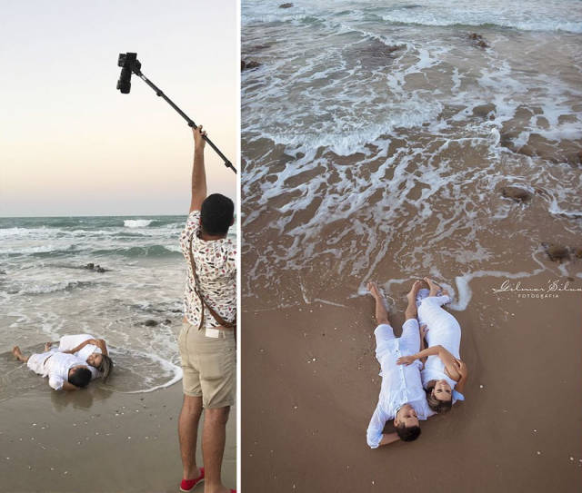 "Behind-The-Scenes Of Those ""Perfect"" Shots"