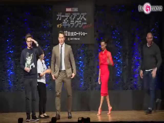 The Translator Had A Hard Time Translating Chris Pratt's Press Conference