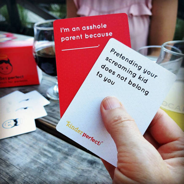 """Cards Against Humanity"" For Parents Are Simply Perfect"