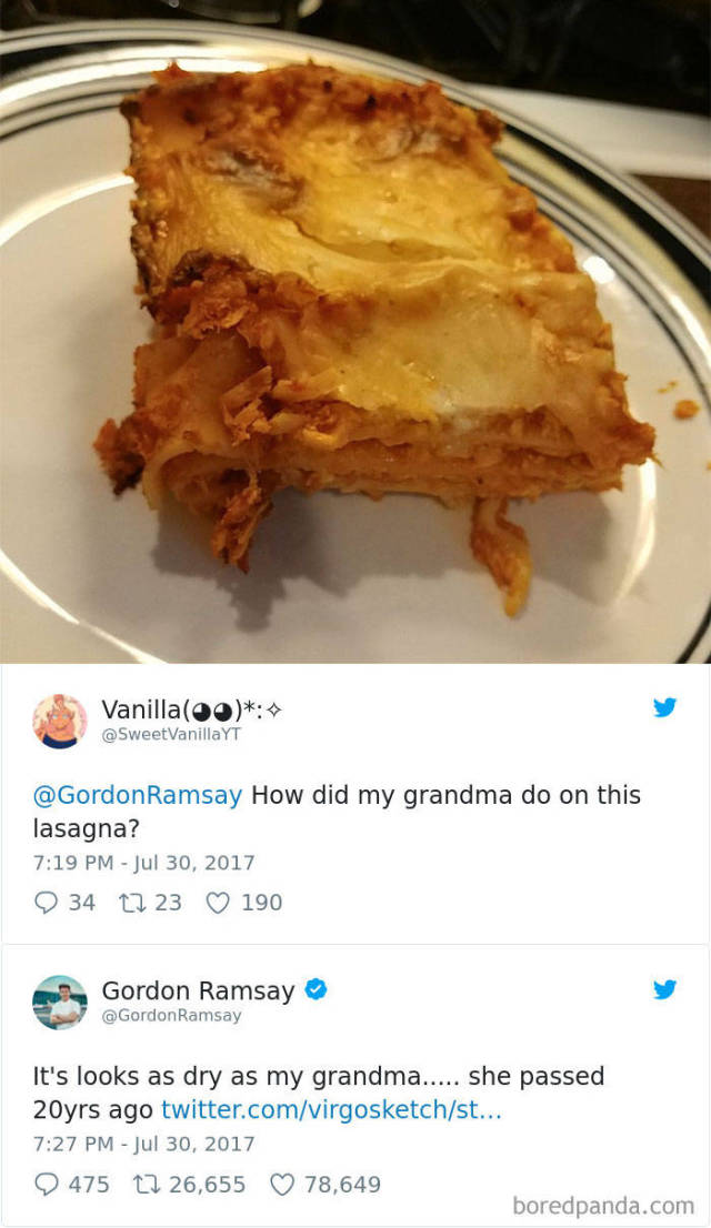 """Gordon Ramsay Is Always Up To Giving Some """"Spicy"""" Feedback On Amateur Cooking"""