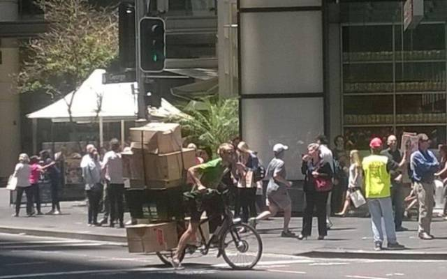 That's Way Too Much Stuff To Carry…