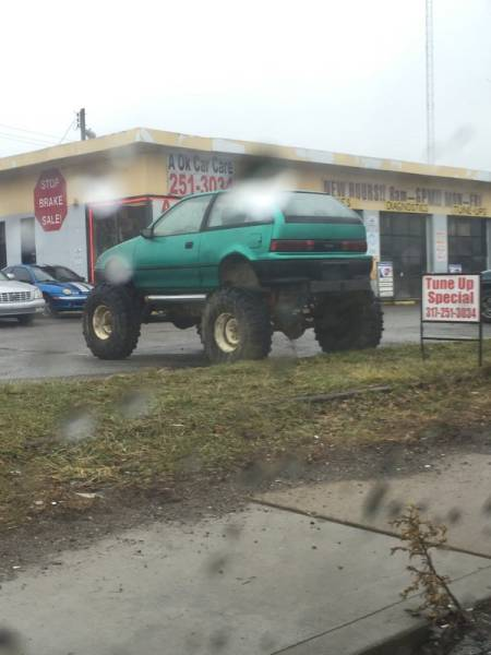 When Car Tuning Goes Too Far, And In A Wrong Direction…