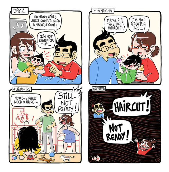 These Comics Perfectly And Hilariously Sum Up Parenting