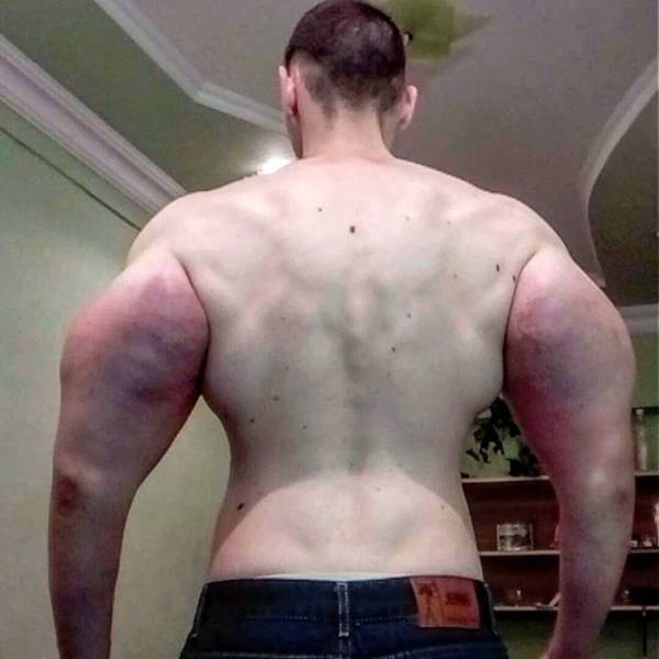 This Guy Was Ready For Everything To Become Like Popeye