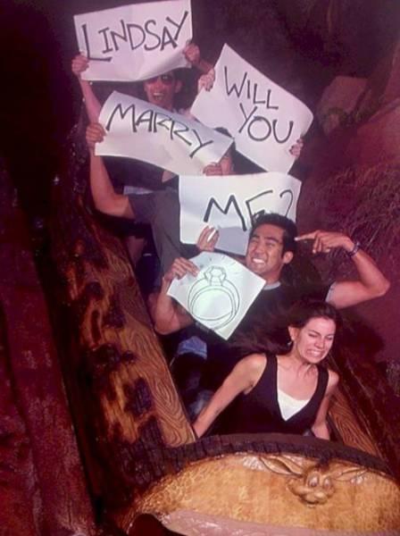 Marriage Proposals Aren't Always Successful…