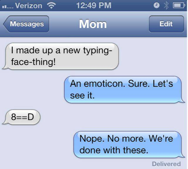 Moms Are Expert At Texting