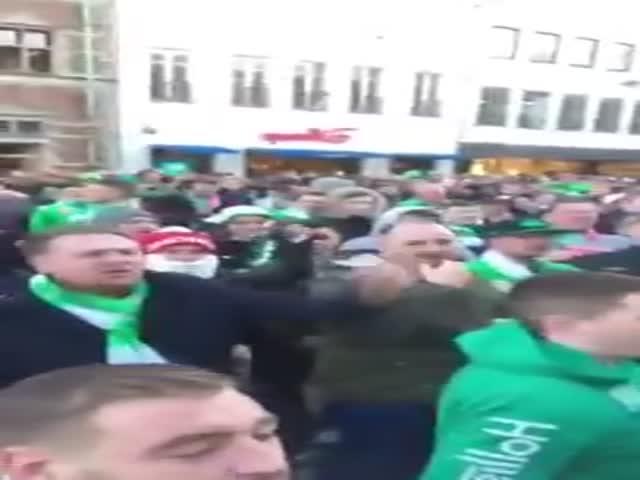 "Irish Football Fans Absolutely Love ""Victoria's Secret"""