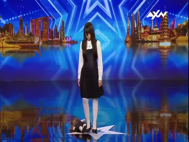 Girl Brought Some Witchcraft To Asia's Got Talent 2017