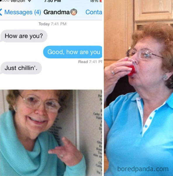 "Grandparents Just Can't Handle That Thing Called ""Texting"""