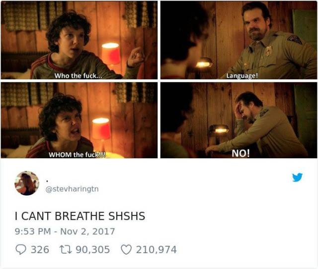"""Stranger Things"" Deserve To Have Their Memes"