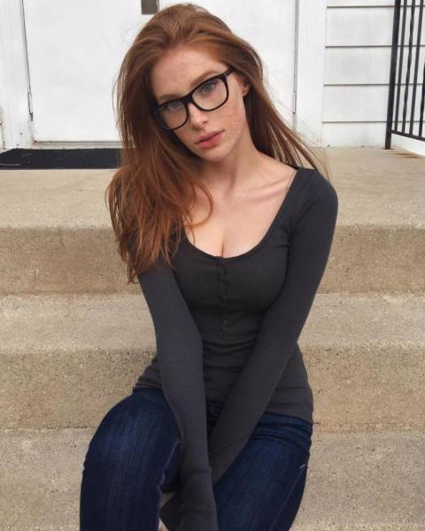 Girls Wearing Glasses Have Some Cute Flair About Them