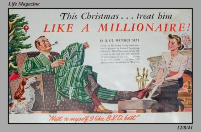 These Vintage Christmas Ads Would've Been So Out-Of-Place Nowadays