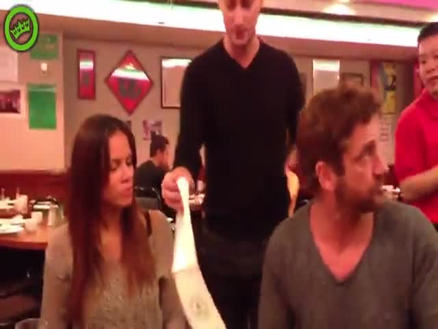 Gerard Butler's Girlfriend Getting Tricked