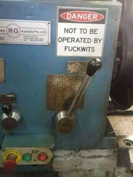 Some People Need Very Clear Instructions