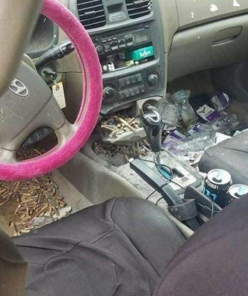 When A Car Turns Into A Trash Can