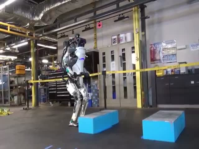 Atlas Robot Has Learned Something New
