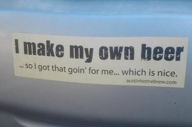 Bumper Stickers Are A Lot Of Fun In A Traffic Jam