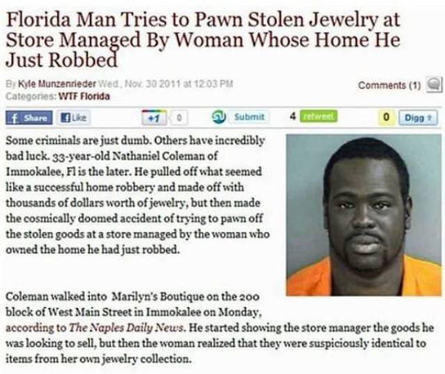 Something Very Strange Is Going On In Florida