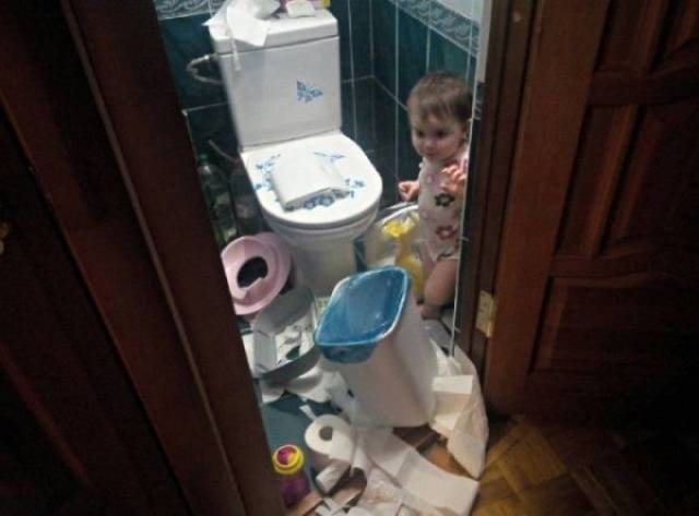Kids Are Your Own In-House Natural Disaster