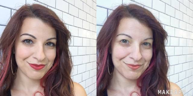 Makeup-Removing App Triggers The Internet To No End