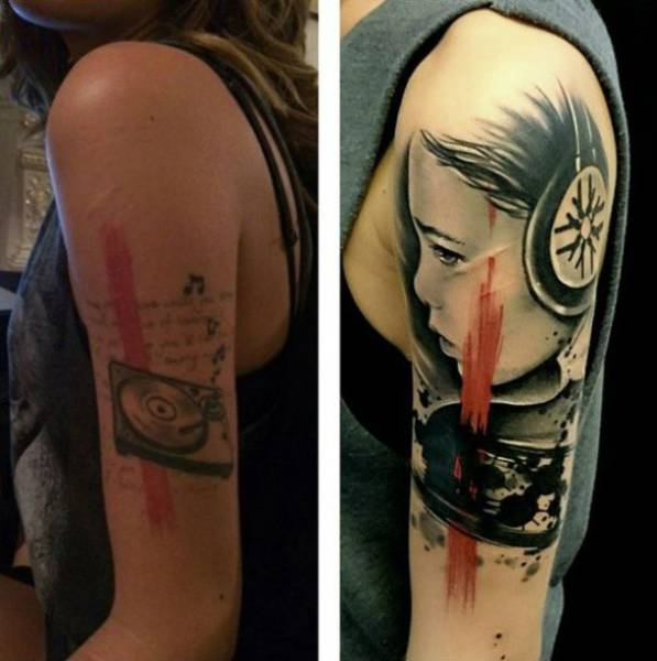 A Really Bad Tattoo Needs A Really Good Cover Up