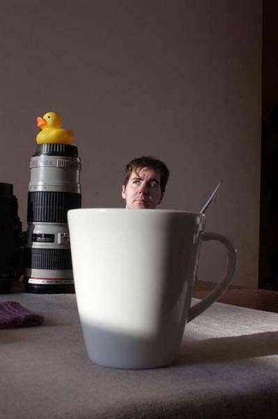 Forced Perspective Makes Photos Special