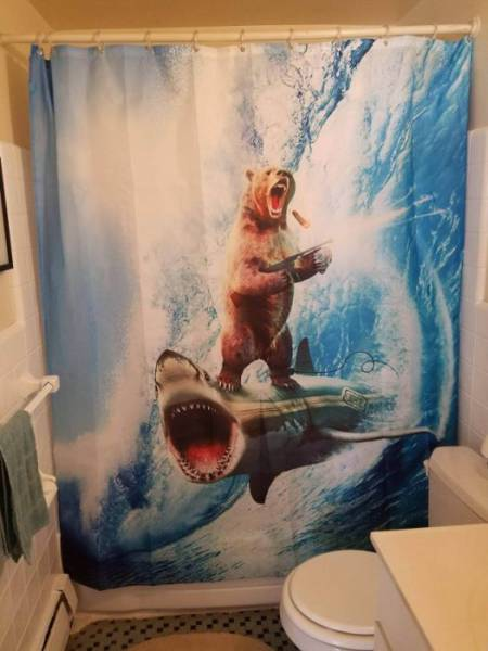 These Shower Curtains Are Perfect For Those With Sense Of Humor