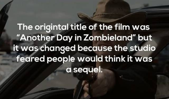 "Braindead Facts About ""Zombieland"""
